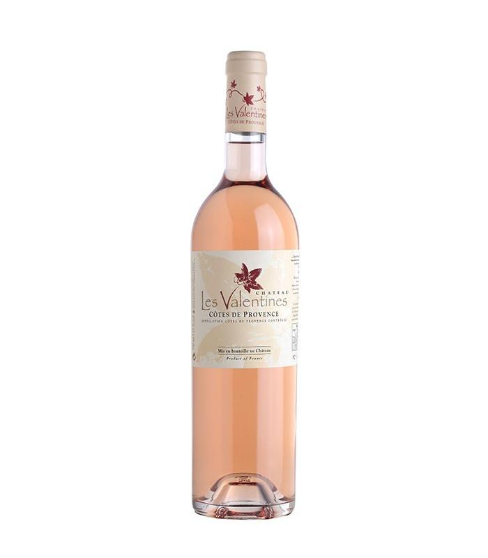 Château les Valentines rosé 2015