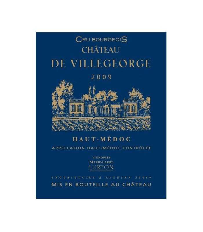 Château de Villegeorge, Haut-Médoc Cru Bourgeois 2009