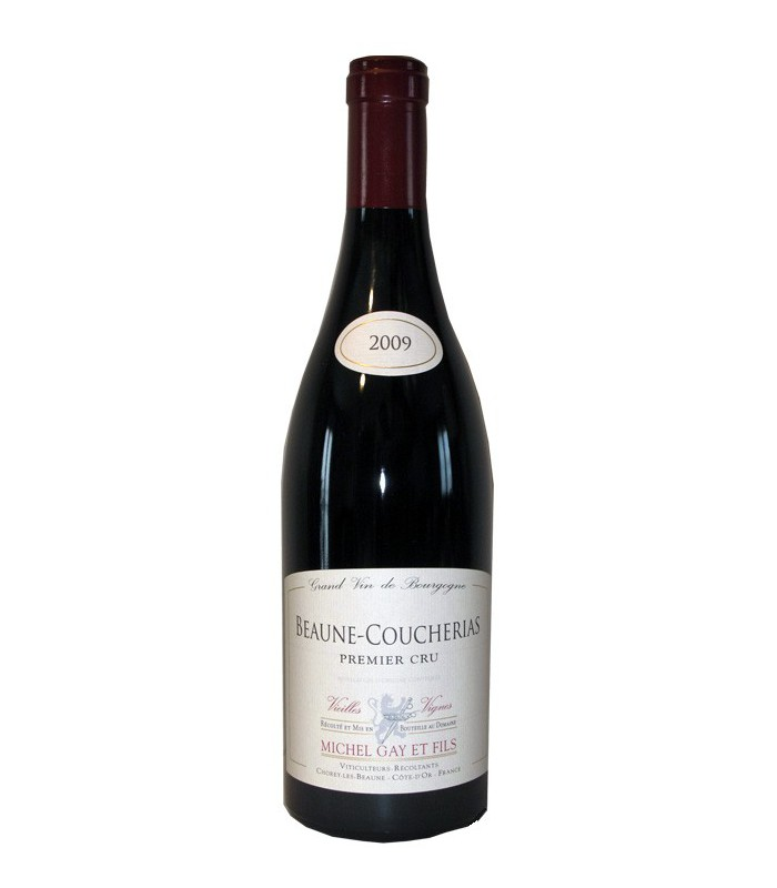 Beaune 1er Cru Rouge coucherias, Domaine Michel Gay 2009