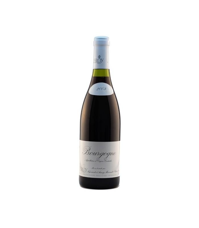 Bourgogne rouge 2003 - Maison Leroy