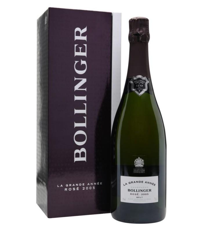Bollinger La Grande Année rosé 2005 - en coffret