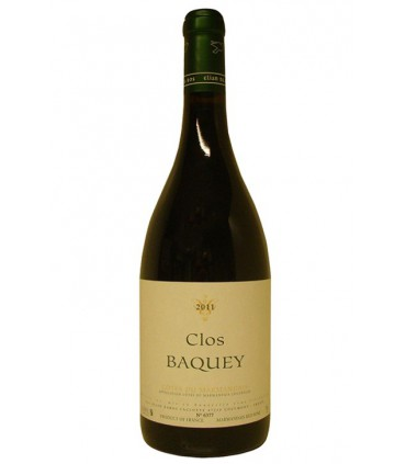 Clos Bacquey 2012 - Elian Da Ros