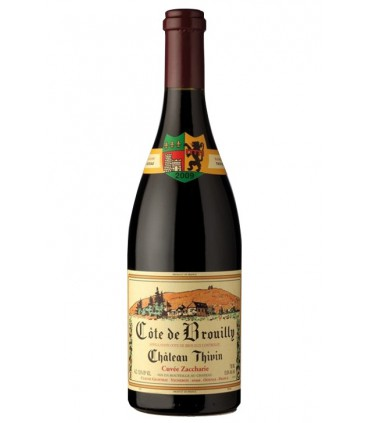 Cuvée Zaccharie 2014 - Château Thivin