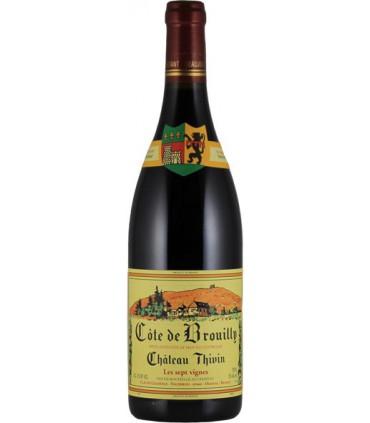 """Côte de Brouilly """"Les 7 Vignes"""" 2016 - Château Thivin"""