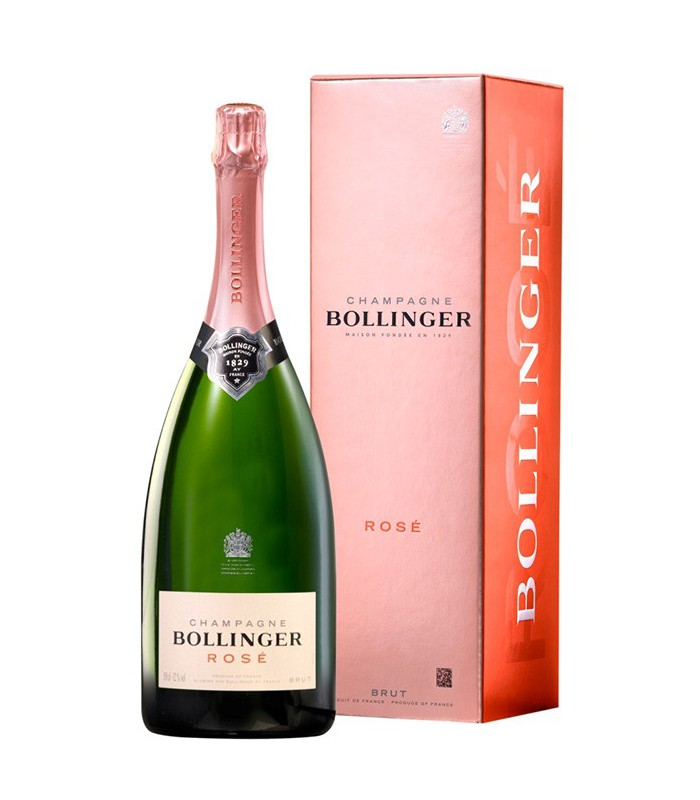 Magnum Bollinger Rosé - sous étui