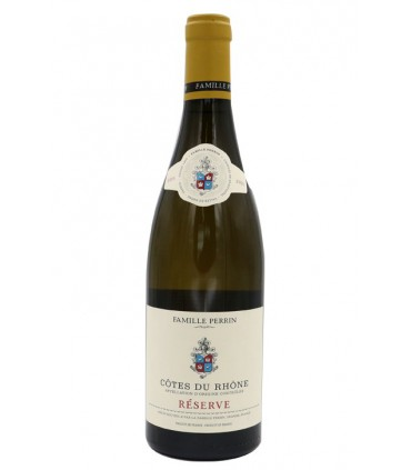 """Côtes du Rhône blanc """"Réserve"""" 2015 - Famille Perrin"""
