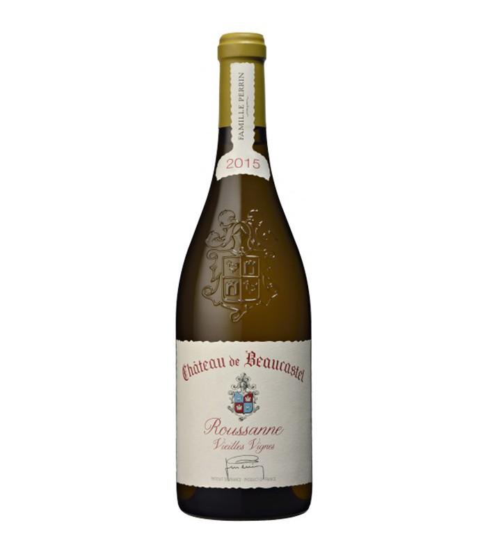 Châteauneuf du Pape blanc Vieilles Vignes 2015 - Château de Beaucastel