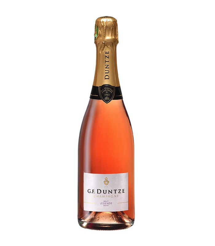 Brut Légende Rosé - Champagne G.F Duntze