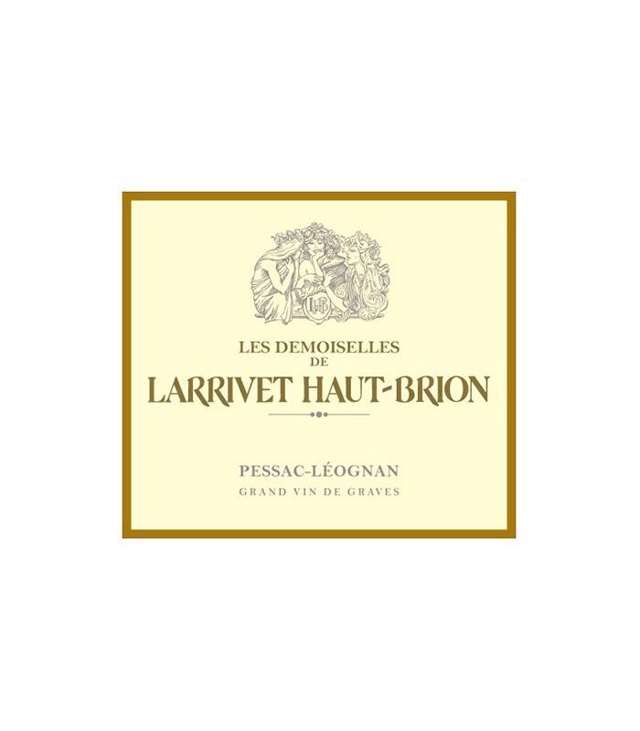 Les Demoiselles de Larrivet Haut-Brion - BLANC 2012