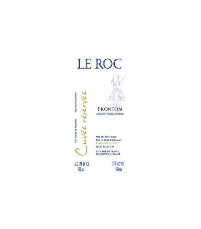 Cuvée Roc Réservée 2011