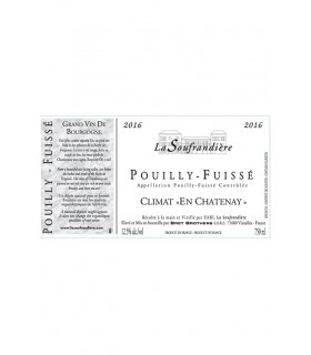 "Pouilly Fuissé ""En Chatenay"" 2016 - La Soufrandière"