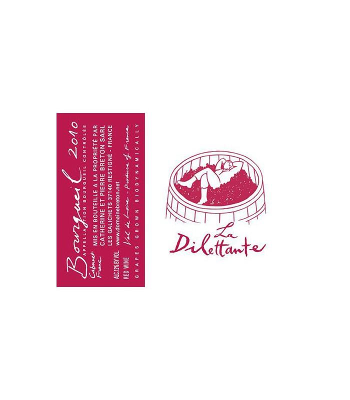 Bourgueil La Dilettante 2016 - Domaine Breton