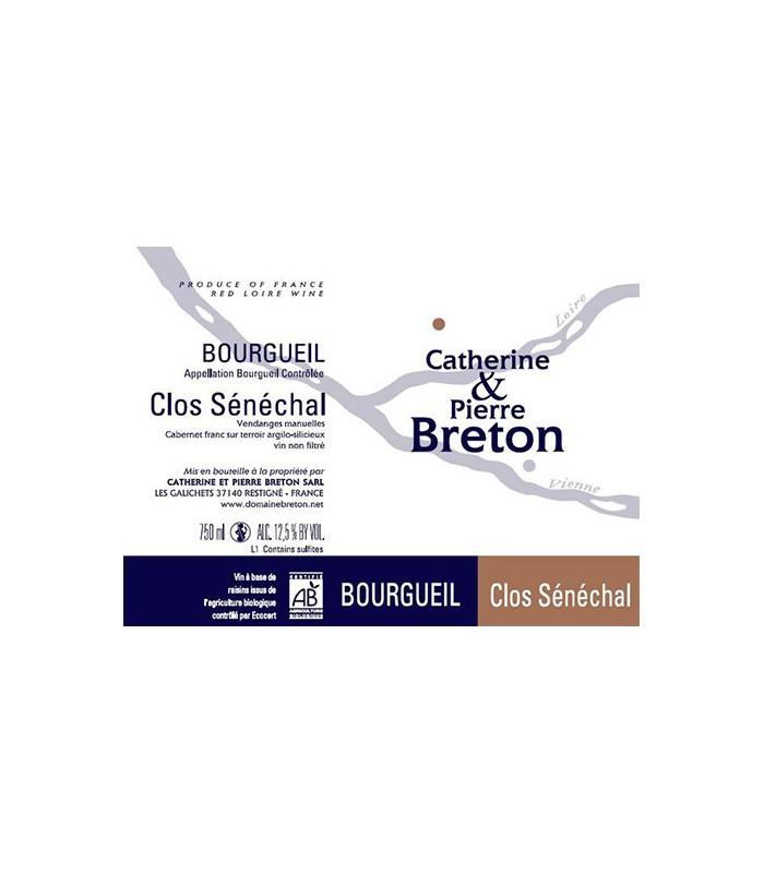 Bourgueil Clos Sénéchal 2015 - Domaine Breton