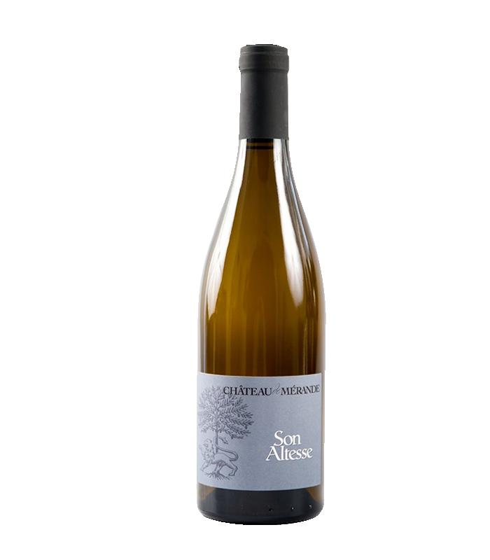 """Roussette de Savoie """"Son Altesse"""" 2017 - Château de Mérande"""