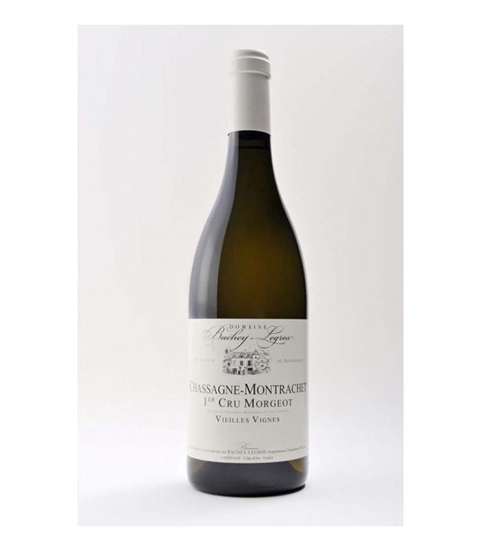 Bachey-Legros Chassagne-Montrachet  blanc 1er Cru Morgeot 2013