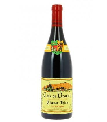 """Côte de Brouilly """"Les 7 Vignes"""" 2018 - Château Thivin"""