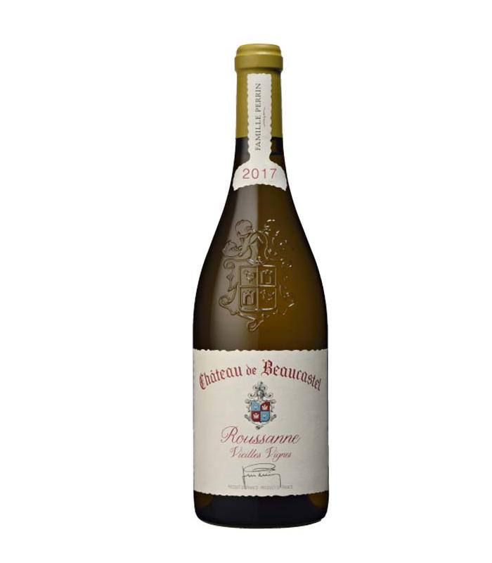 Châteauneuf du Pape blanc Roussanne Vieilles Vignes 2017 - Château de Beaucastel
