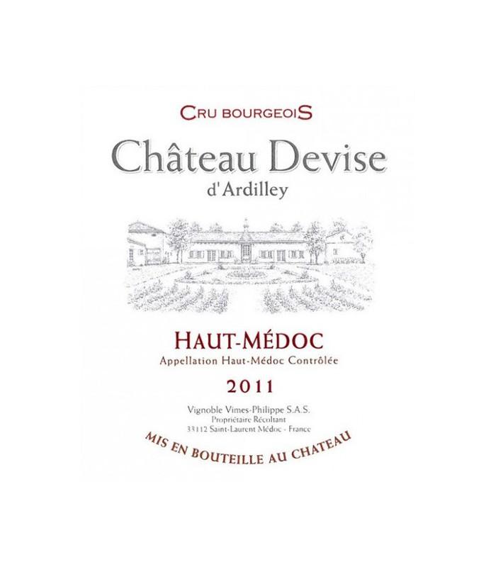 Château Devise d'Ardilley 2011 par lot de 6