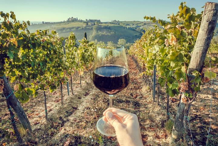 Vin rouge du languedoc roussillon